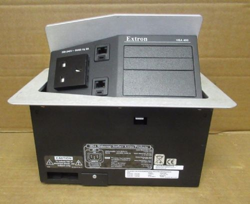 Hideaway HSA 400 Hideaway Surface Accesss Enclosure For Office Business PC Black